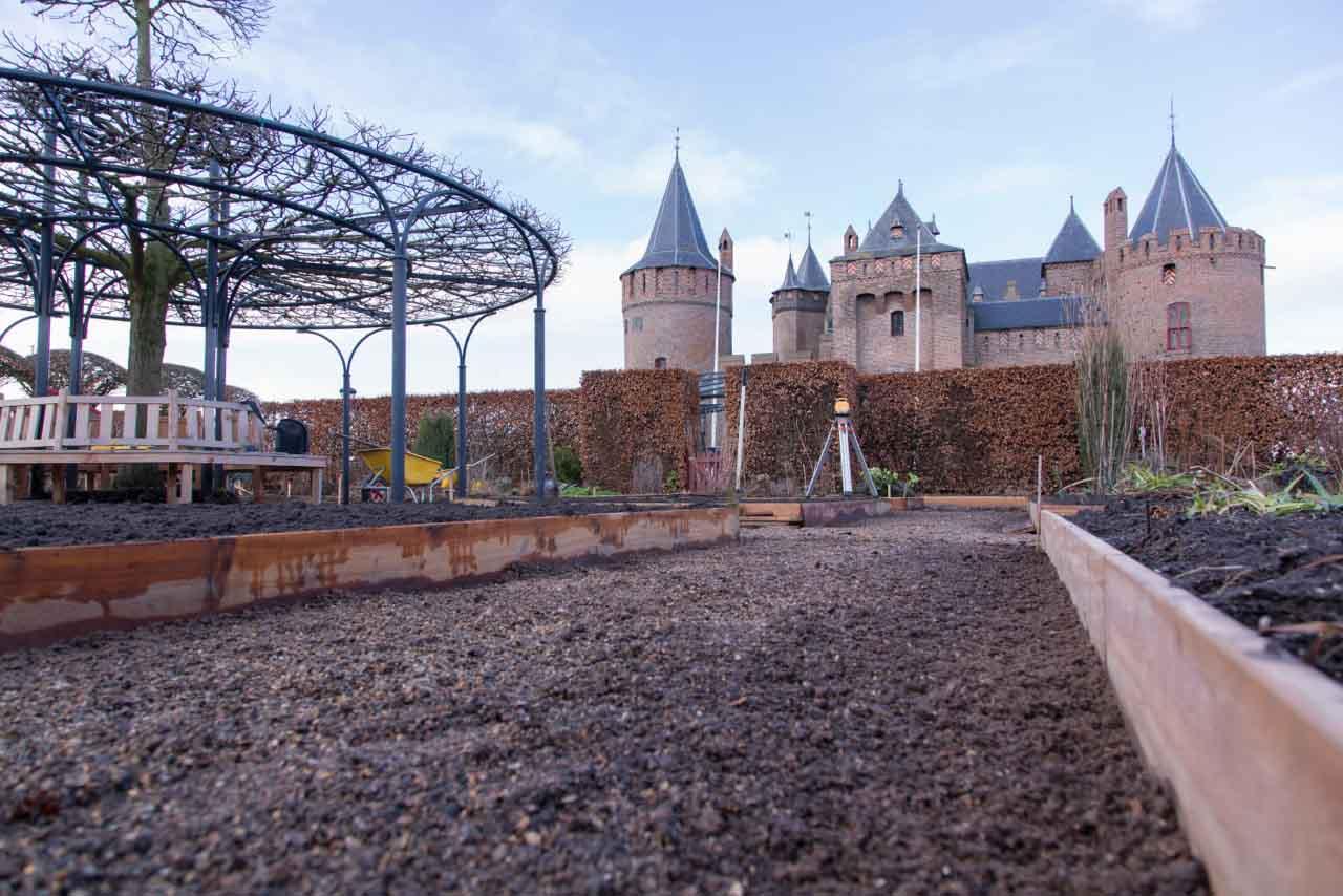 Erfgoedhovenier Hoefakker Rijksmuseum Muiderslot onderhouden en renovatie (5)