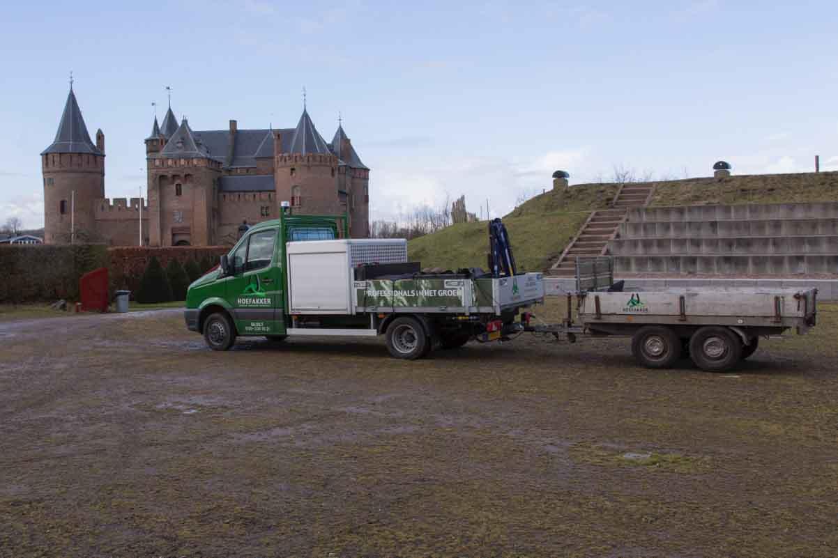 Erfgoedhovenier Hoefakker Rijksmuseum Muiderslot onderhouden en renovatie (6)